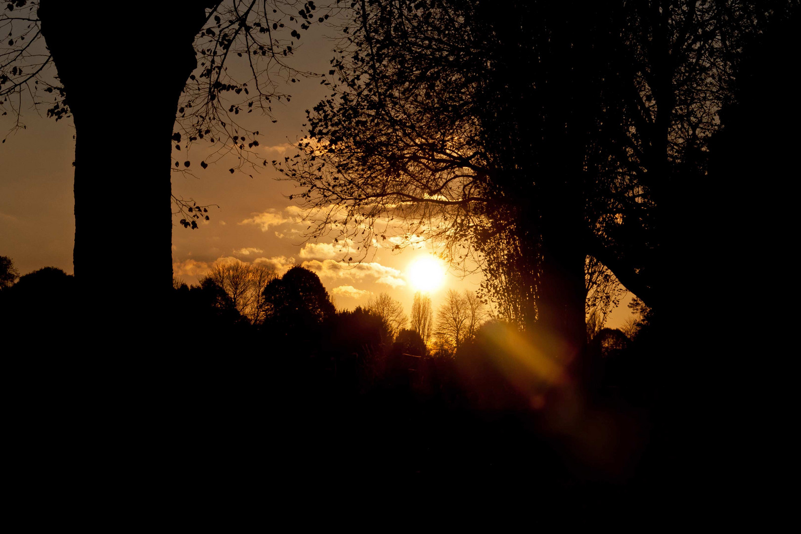 Sonne über Linn