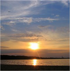 Sonne über Schwerin