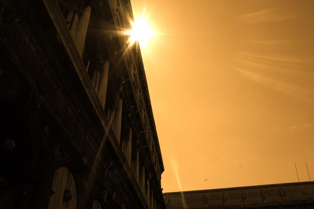 Sonne über Venezia