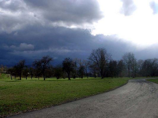 Sonne und bald Regen (Giessen)