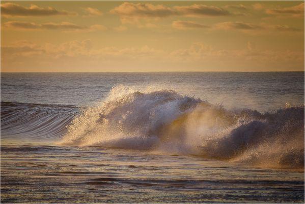 Sonne und Meer... am frühen Morgen...