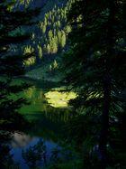 Sonne und Schatten , Golzernsee