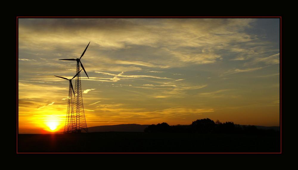 Sonne und Wind