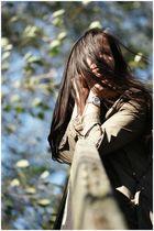 Sonne und Wind im Herbst