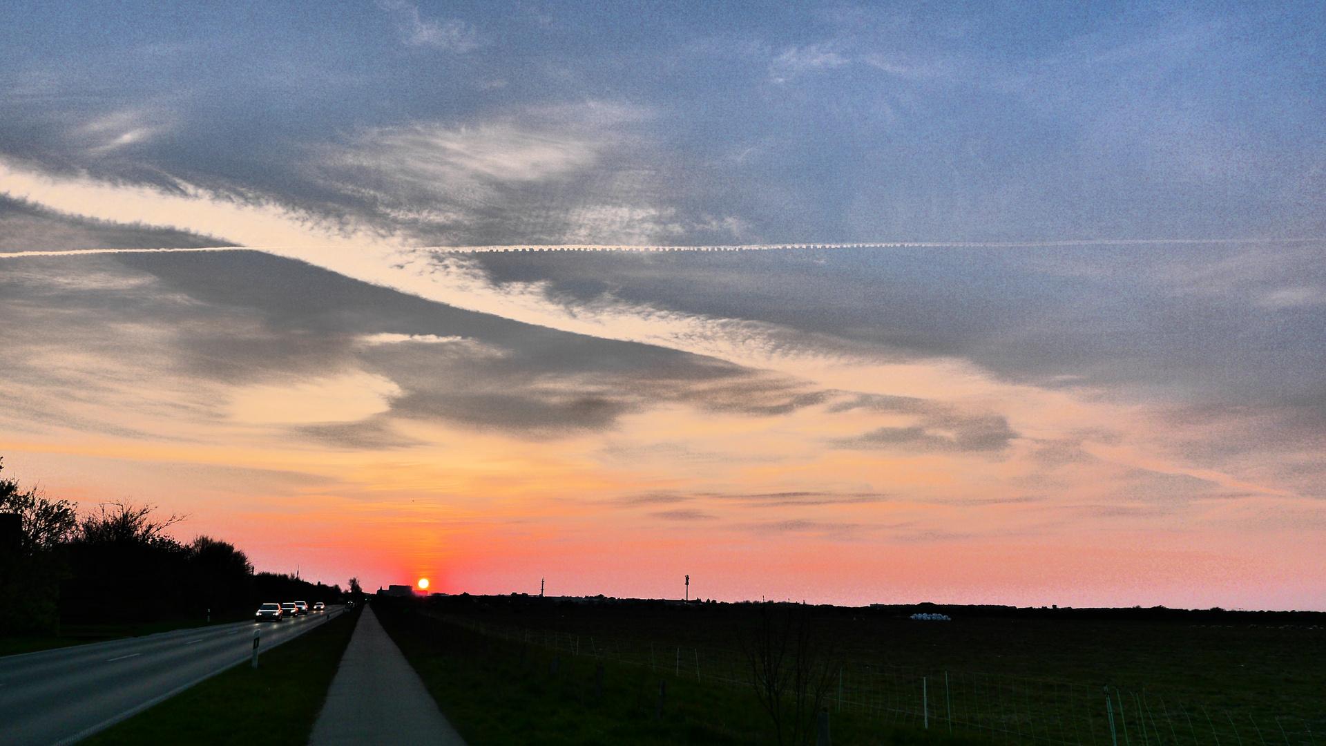 Sonne versinkt - 01