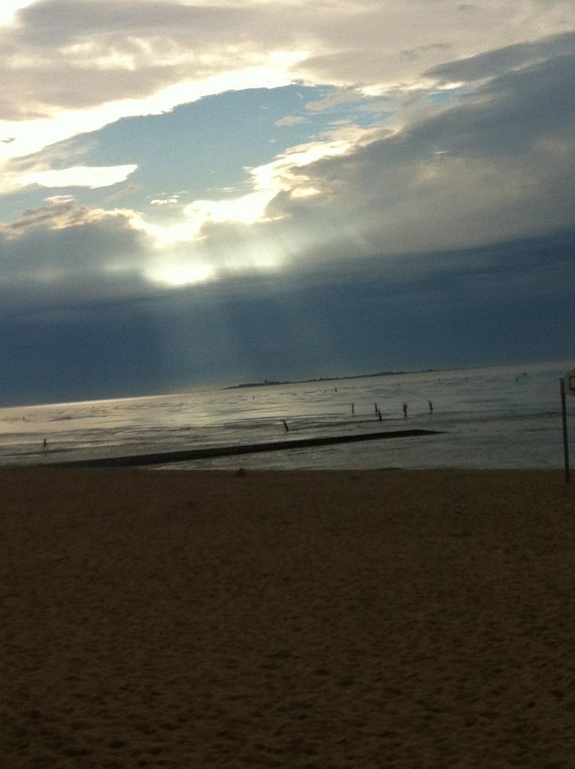 Sonne / Watt / Strand / Himmel