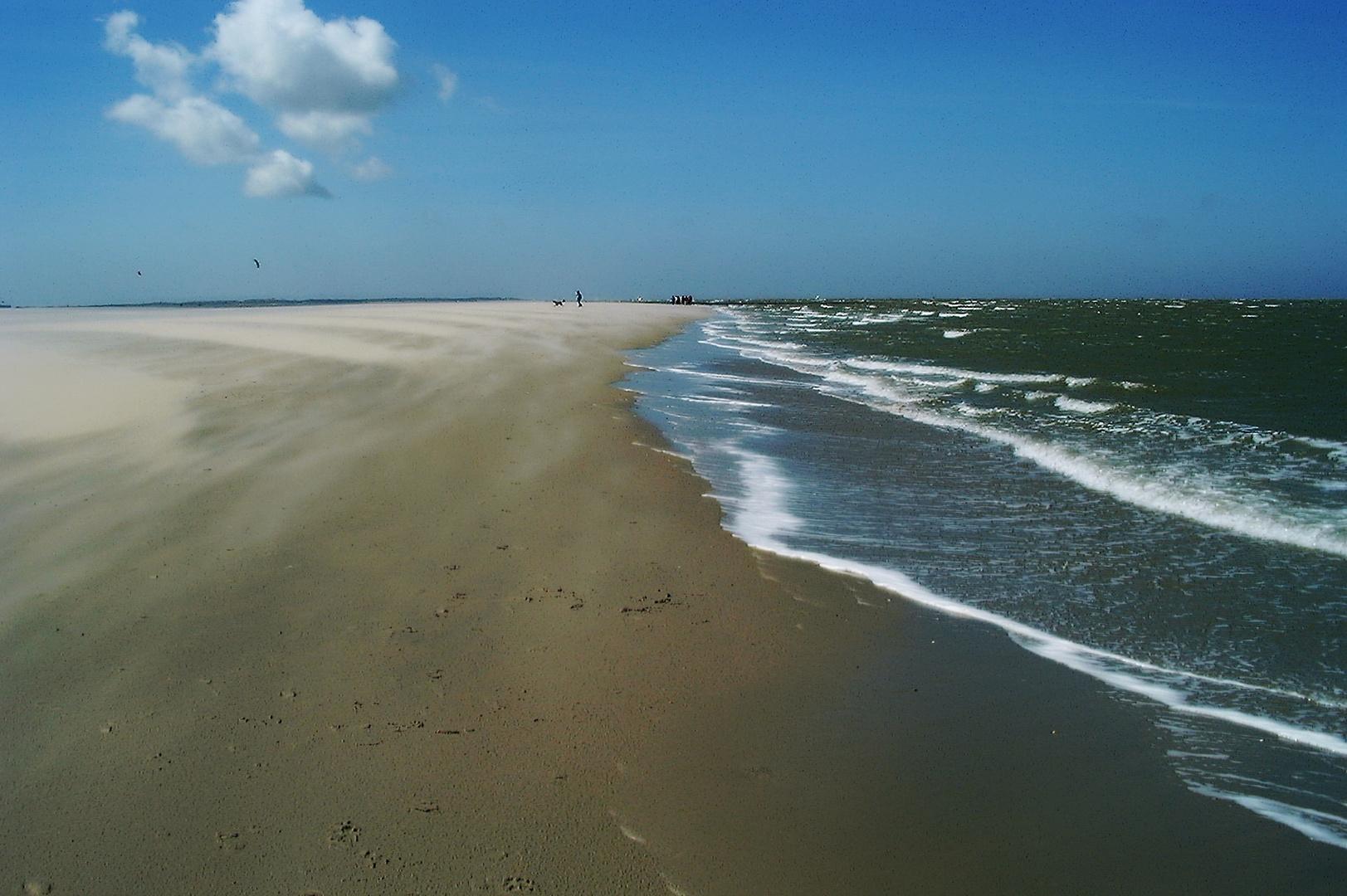 Sonne Wind und Meer