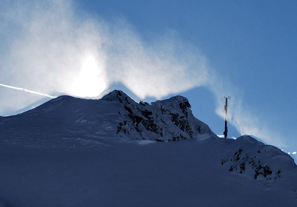 Sonne, Wind und Schnee