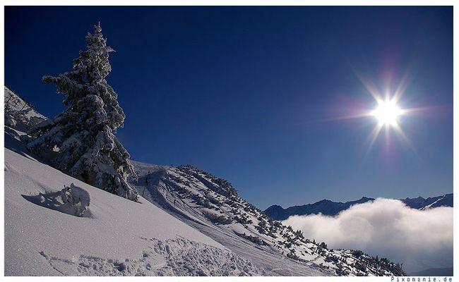 Sonne, Winter, Schnee
