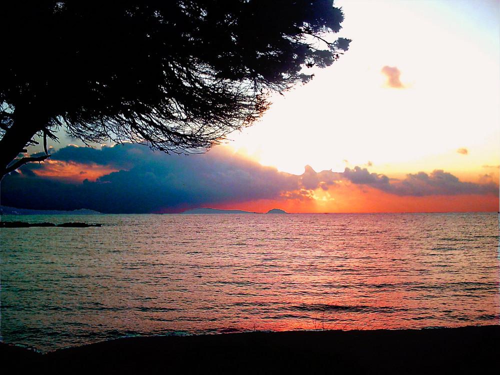 Sonneaufgang am Meer
