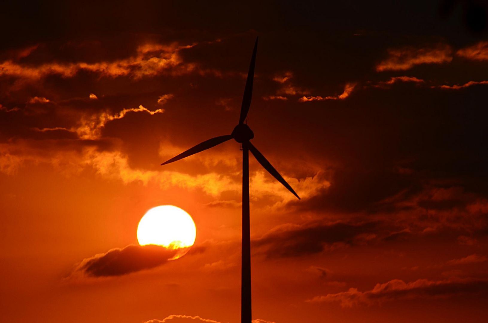 Sonnen- und Windkraft
