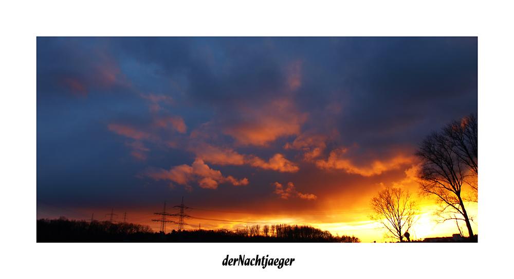 Sonnen Untergang 4