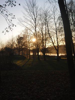 "Sonnen Untergang am Keller See in ""Kell am See"""