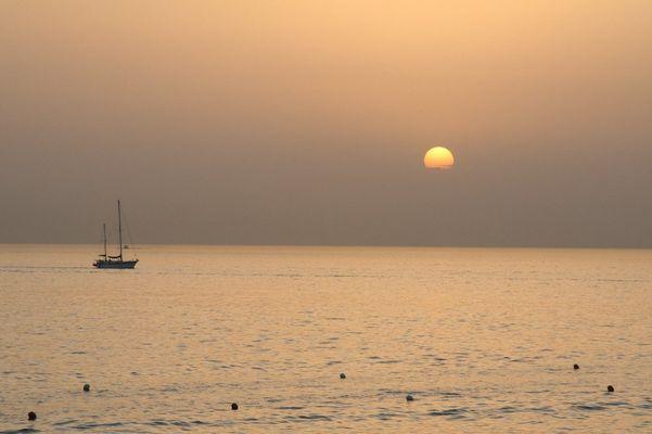 Sonnenabschied in Kalabrien