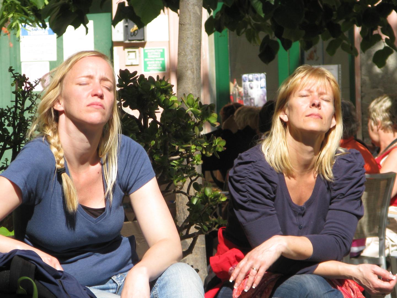 Sonnenanbeterinnen