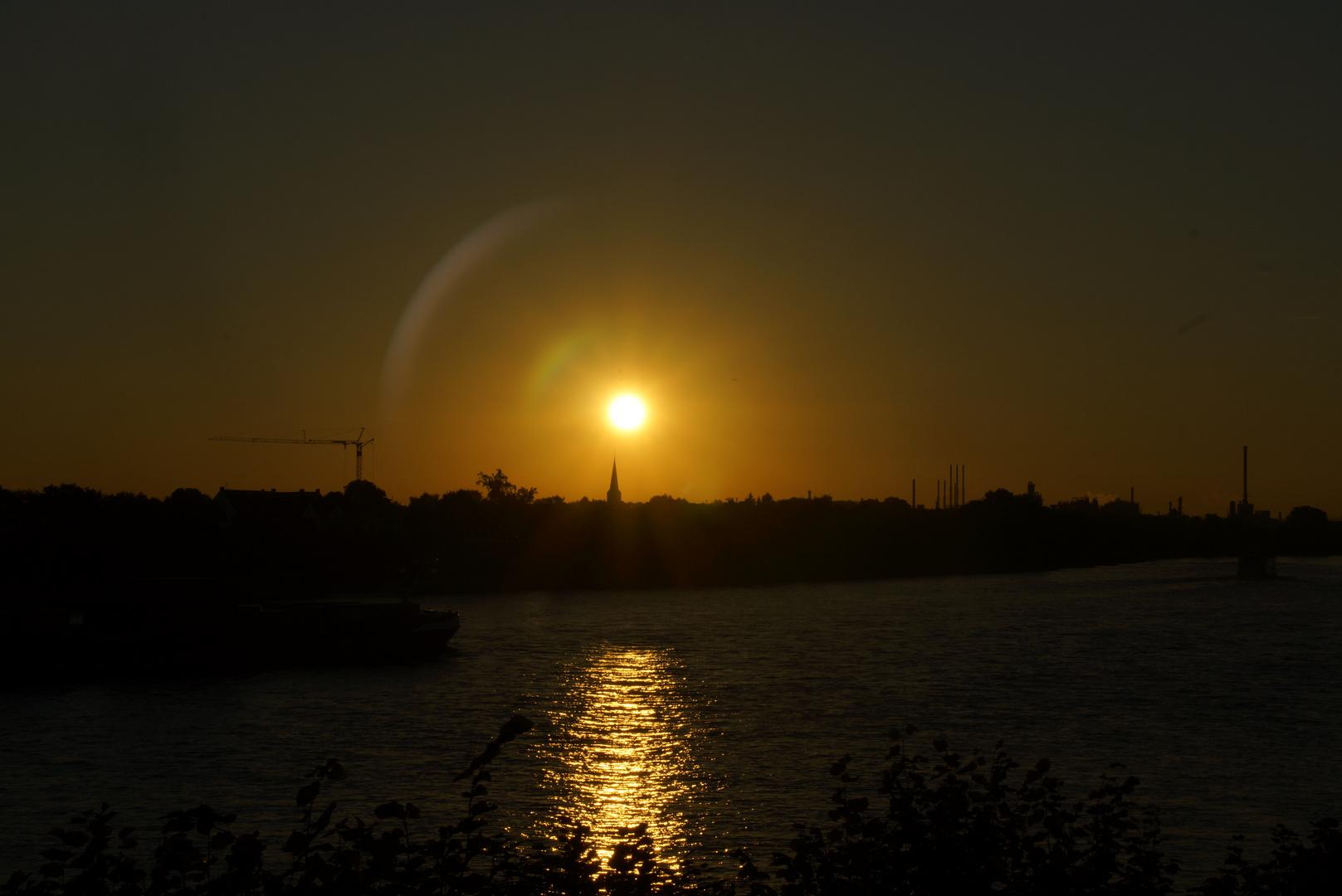 Sonnenaufgaben im September