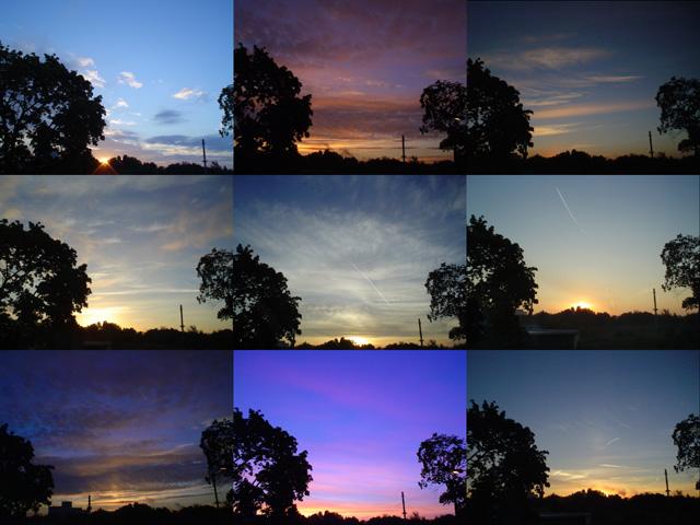 Sonnenaufgänge
