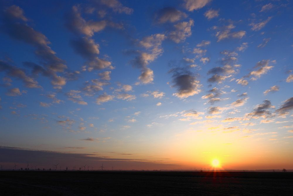 Sonnenaufgang 03.04.2013
