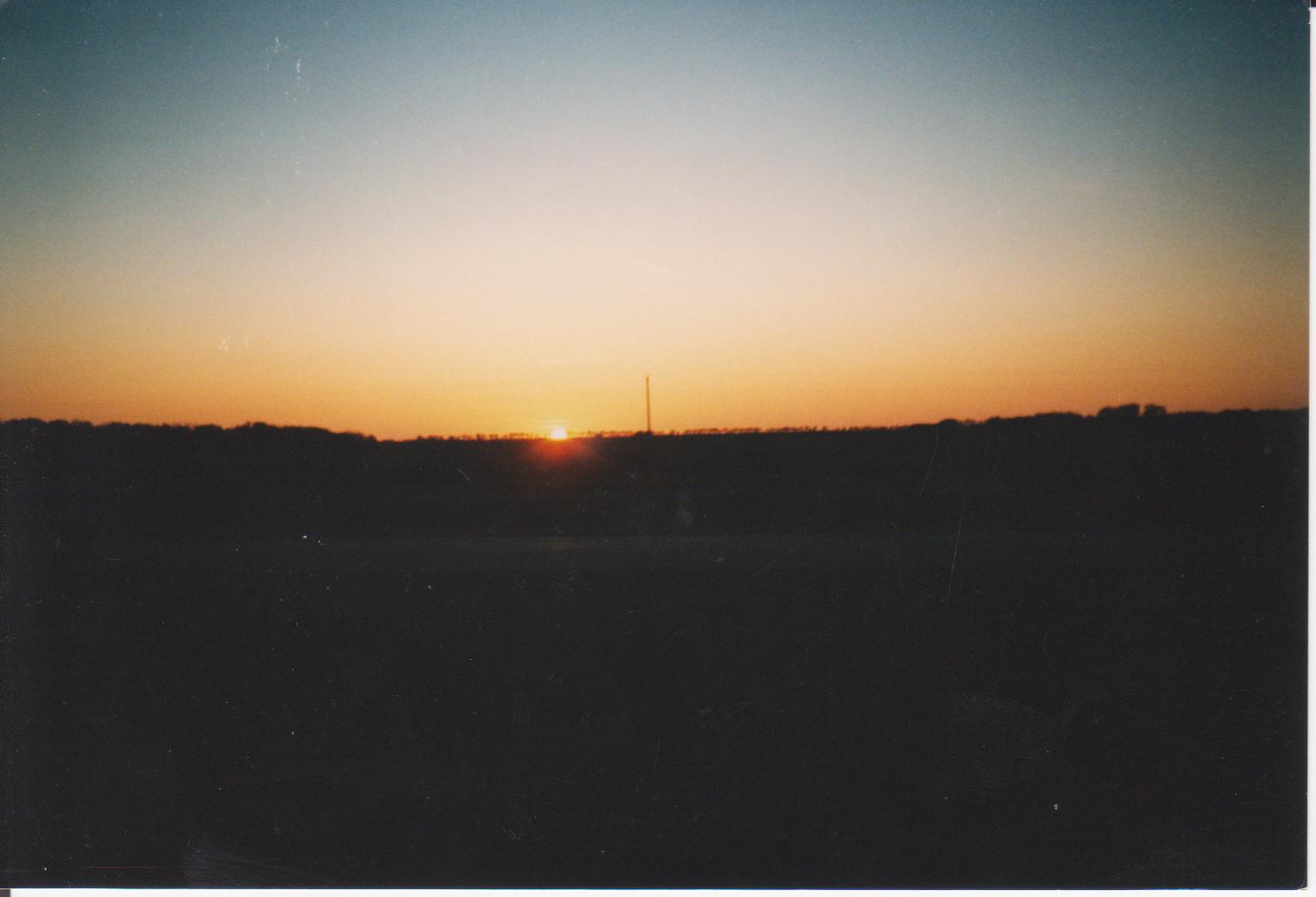 Sonnenaufgang 10./1993 Kanada