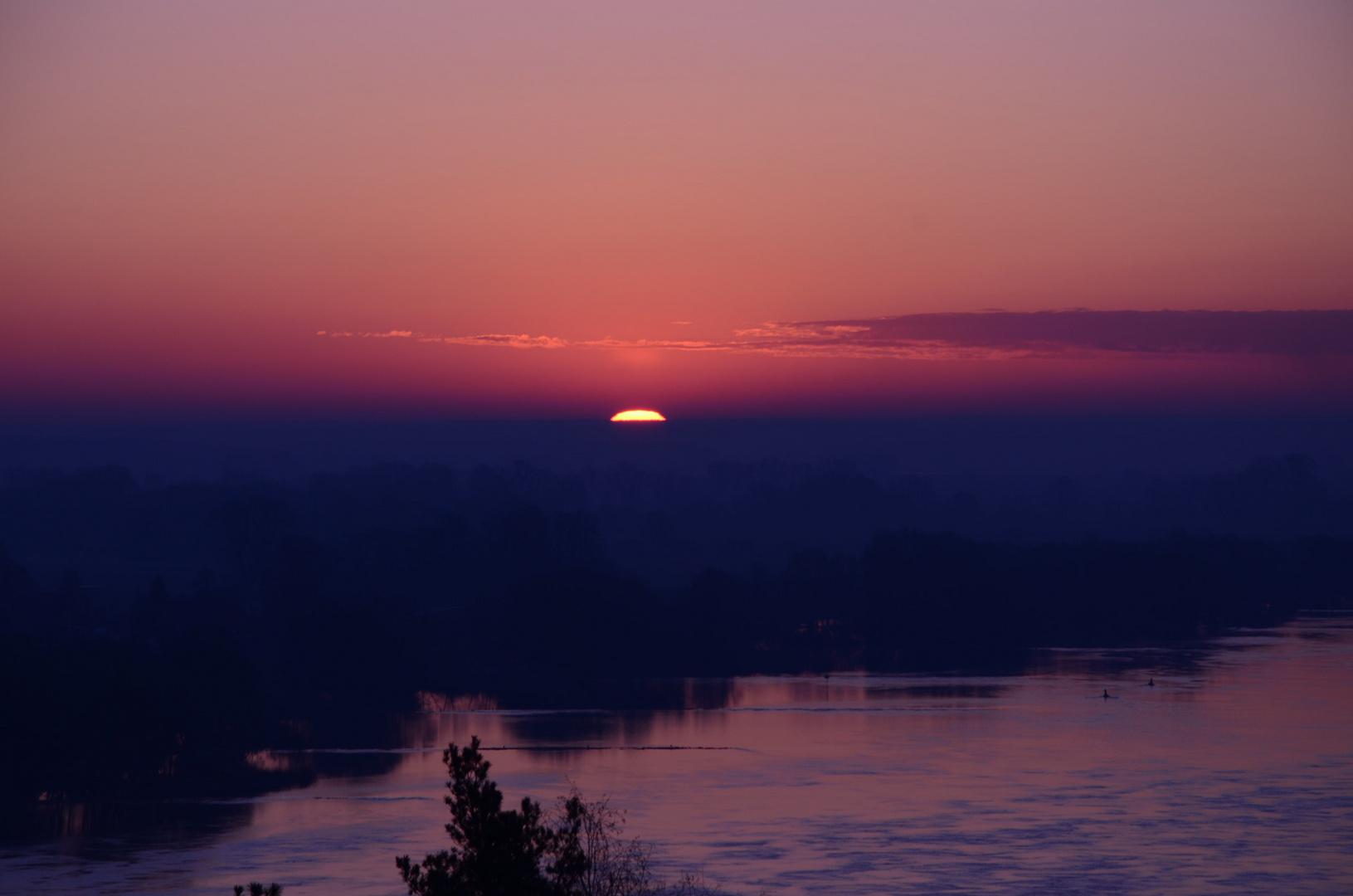 Sonnenaufgang 2 - Ostersonntag 08.04.2012