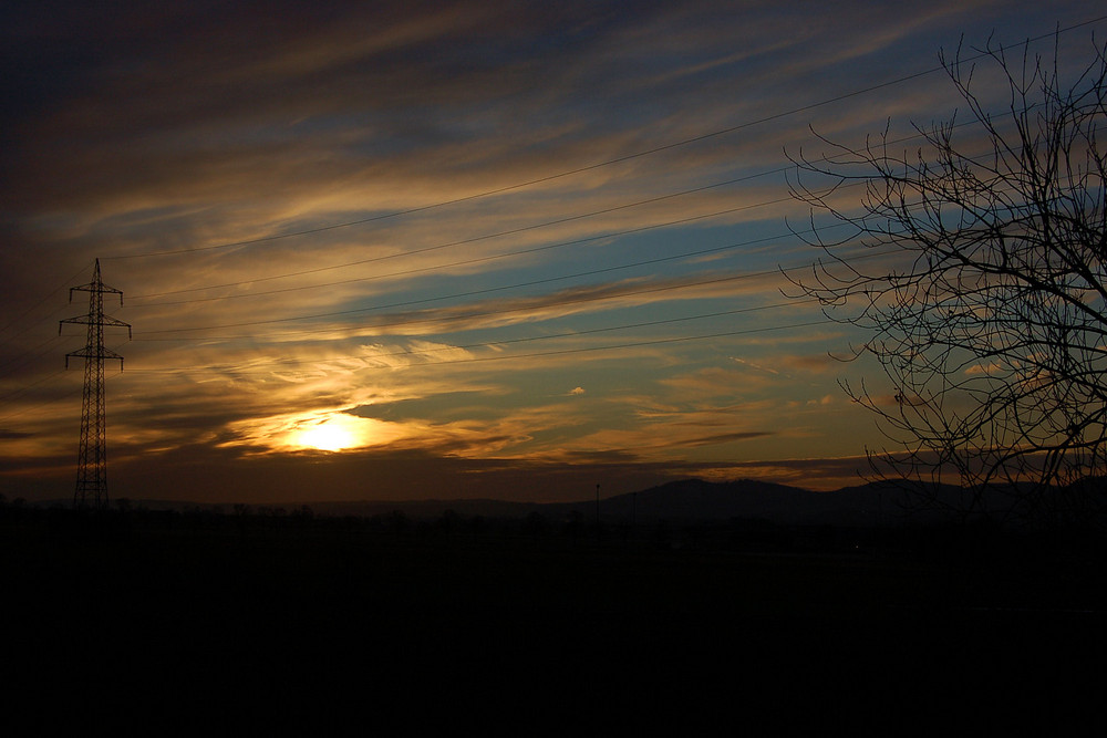 Sonnenaufgang 20_01_2009 Teil 1