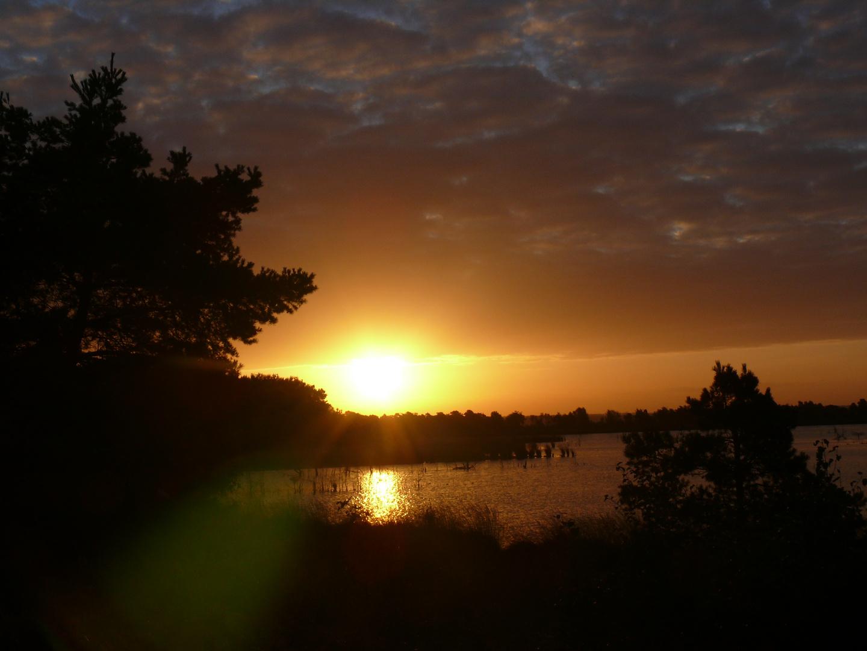 Sonnenaufgang.