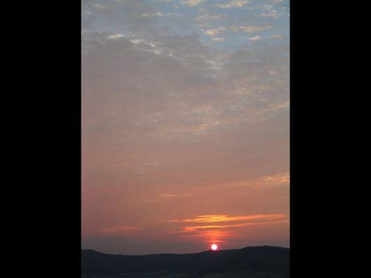 Sonnenaufgang 4.45h