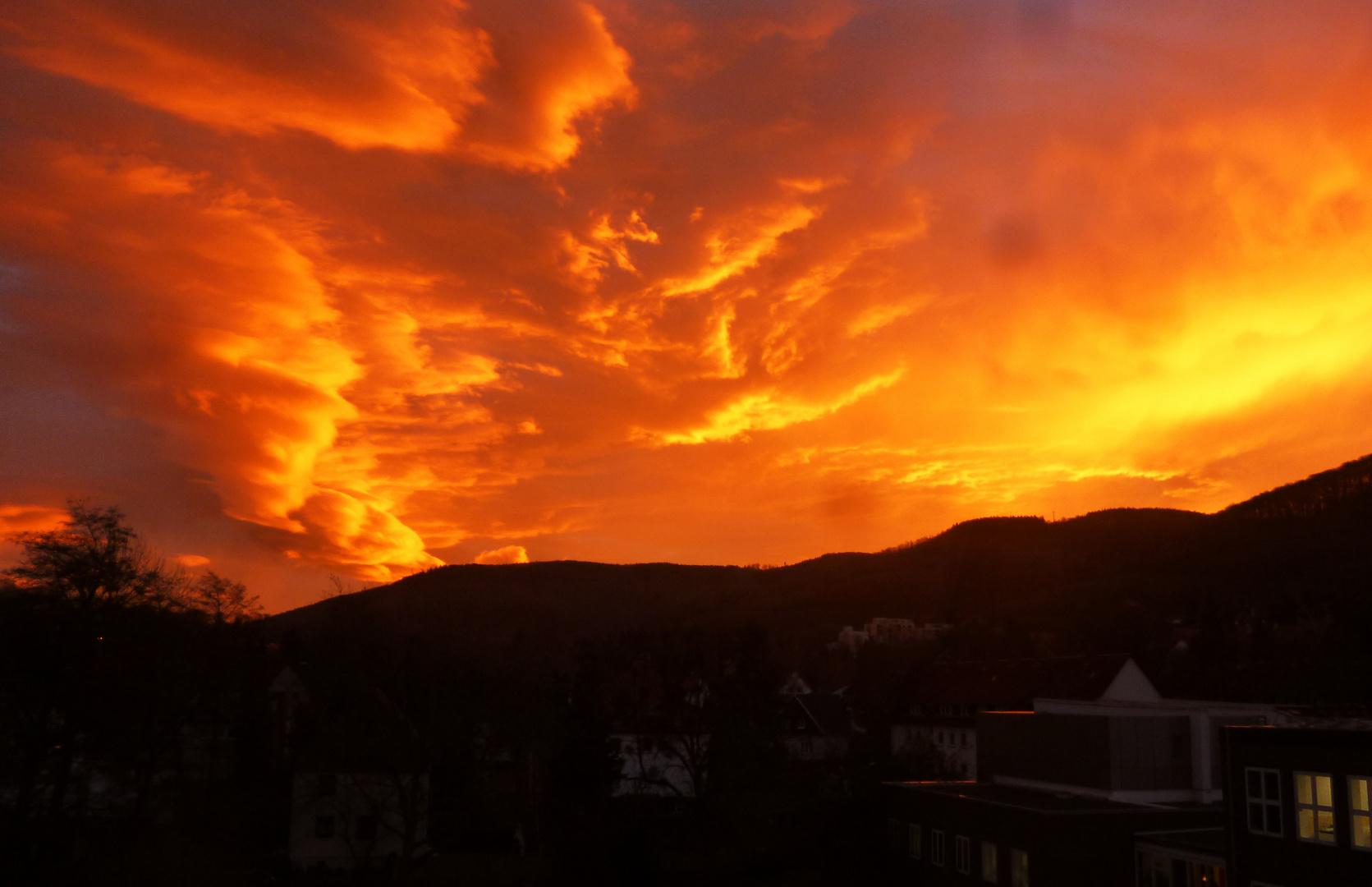 Sonnenaufgang 6. Jan 2014