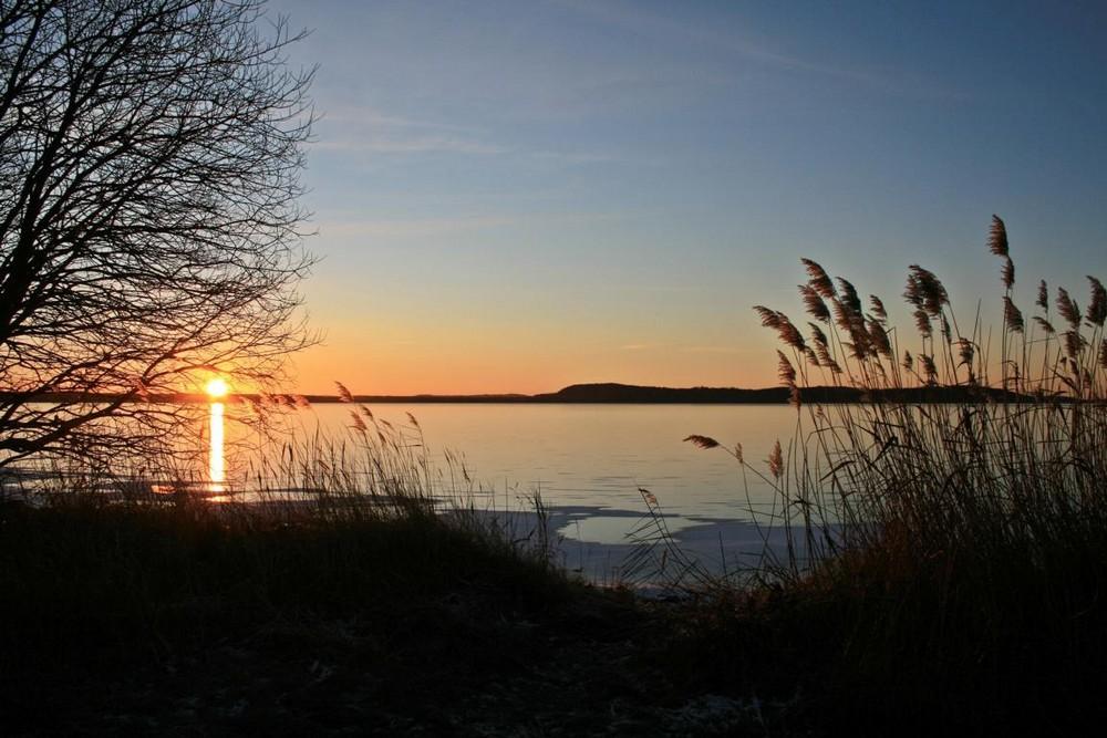 Sonnenaufgang . . .