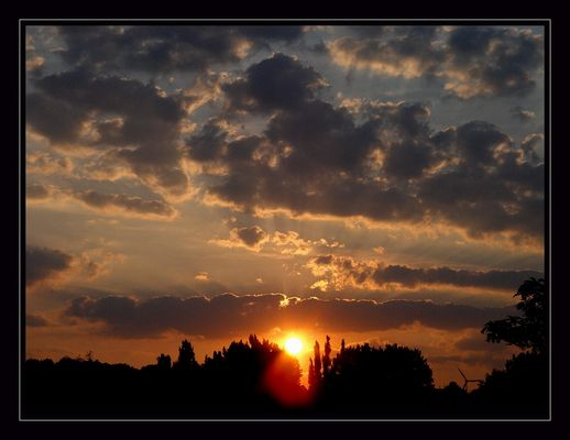- Sonnenaufgang -