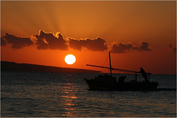 Sonnenaufgang Ägypten