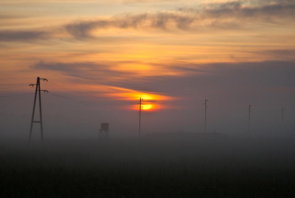 Sonnenaufgang am 22.08.09