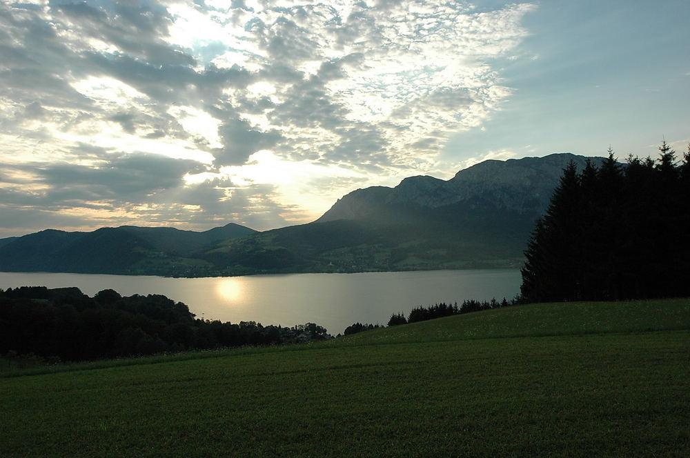 Sonnenaufgang am Attersee!
