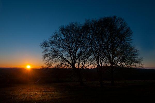 Sonnenaufgang am Breitenstein