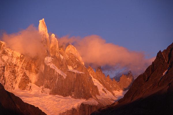 Sonnenaufgang am Cerro Torre