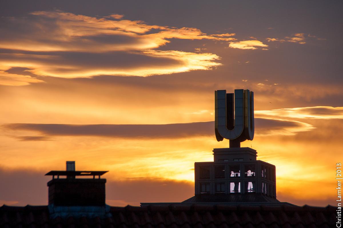 Sonnenaufgang am Dortmunder U