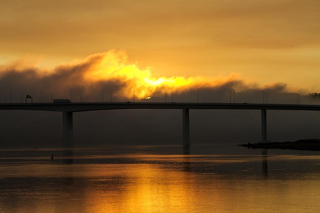 Sonnenaufgang am Douro
