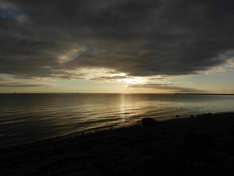 Sonnenaufgang am Fehmarnbelt