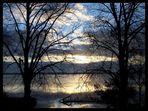 Sonnenaufgang am Goldberger See