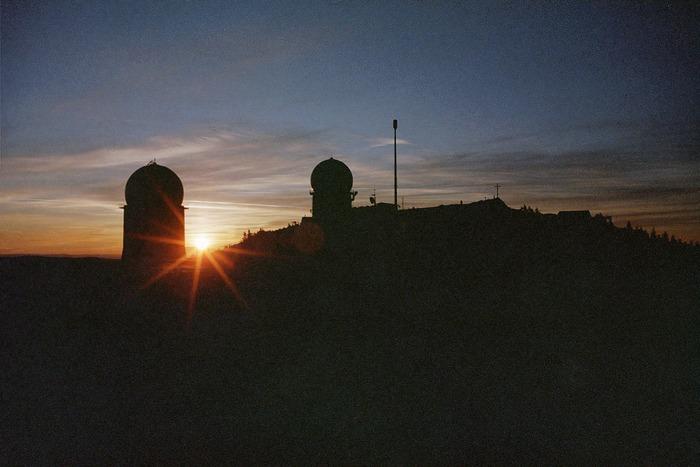 Sonnenaufgang am Großen Arber