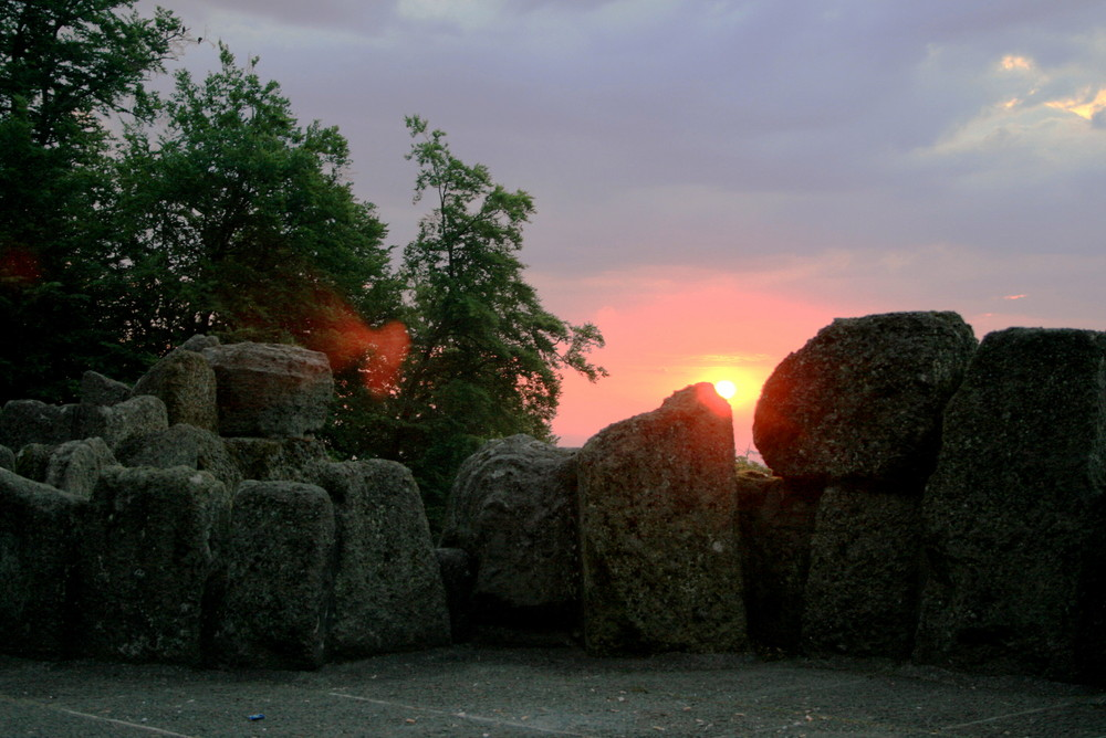 Sonnenaufgang am Herkules