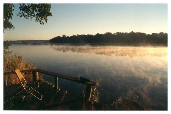 Sonnenaufgang am Kavango