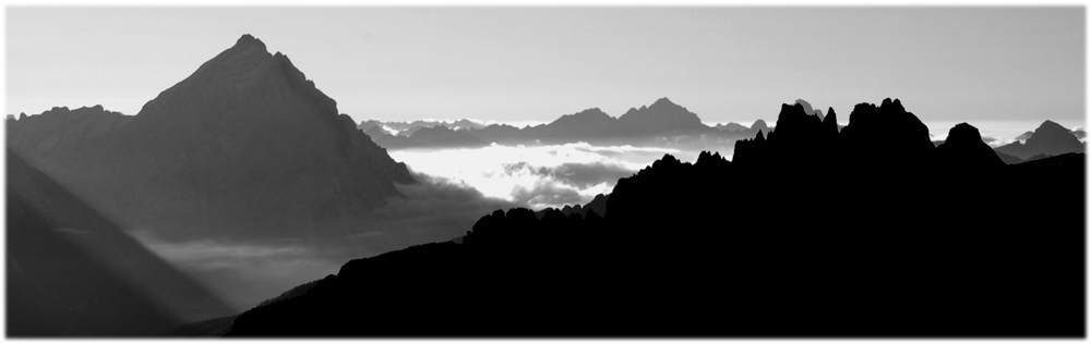 Sonnenaufgang am Lagazuoi