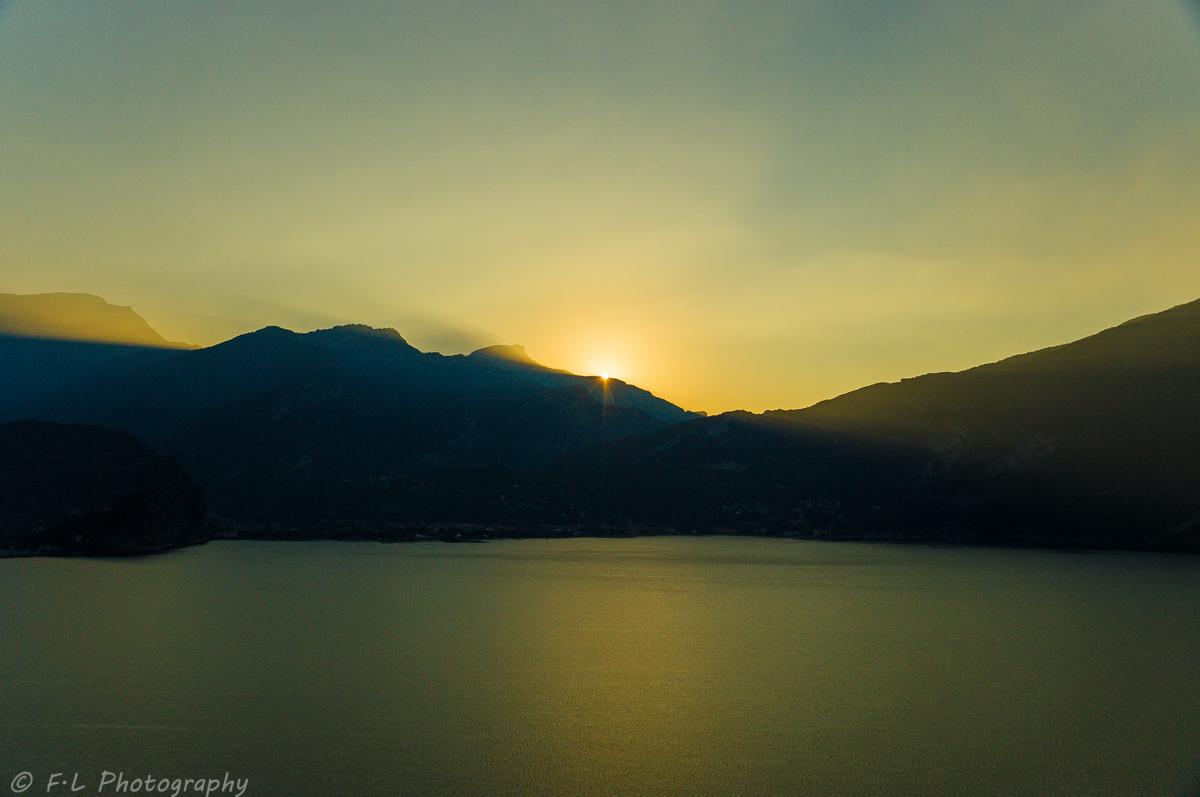 Sonnenaufgang am Lago di Garda 2