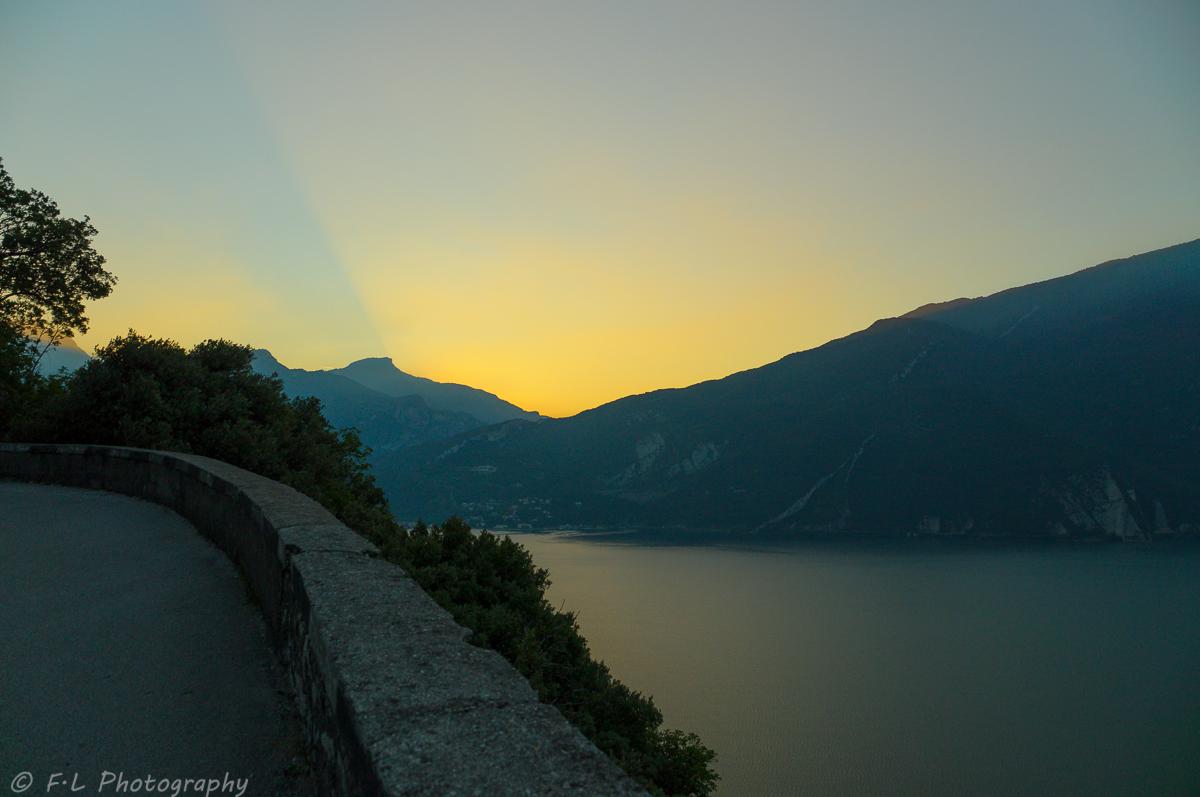 Sonnenaufgang am Lago di Garda