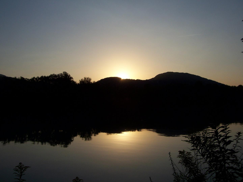 Sonnenaufgang am Lido Toce