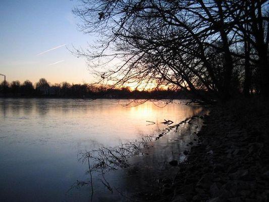 Sonnenaufgang am Maschsee