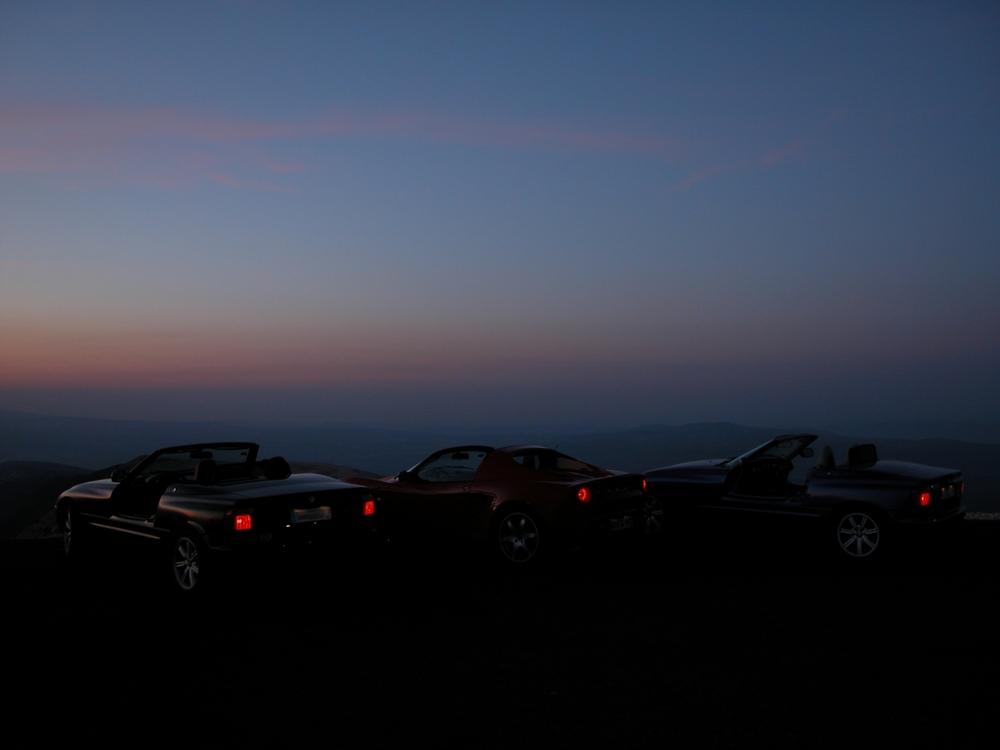Sonnenaufgang am Mont Ventoux