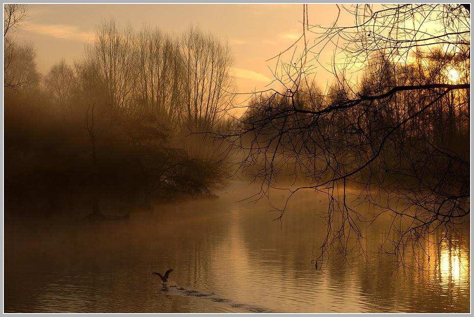 Sonnenaufgang am Mühlenbach