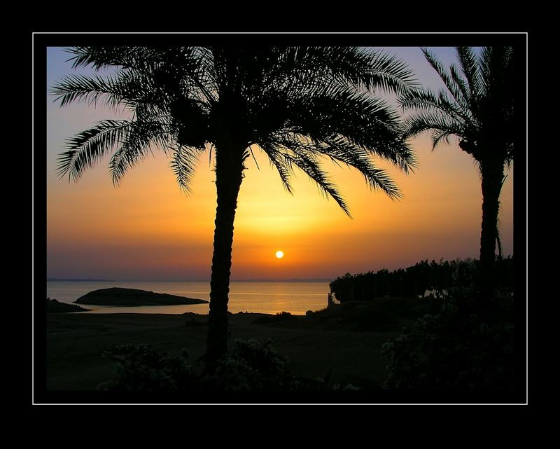 Sonnenaufgang am Nasser-See